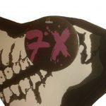 7X à Produit Original - Masque Protection Demi Cagoule Neoprene Ghost Tete de mort - Skull - Taille unique réglable - Airsoft - Paintball - Outdoor - Ski - Snow - Surf - Moto - Biker - Quad de la marque 7X image 2 produit