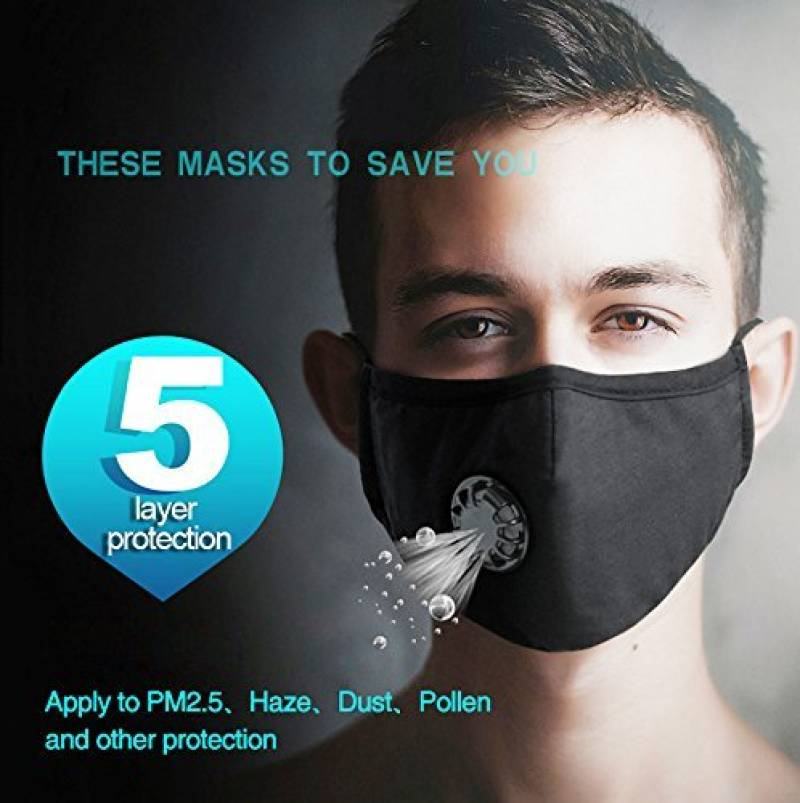 masque protection anti bacterien