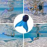 CoastaCloud Mono-Palmes d'entraînement pour Enfant Monopalme de plongée Déguisement Princesse de Sirène de la marque CoastaCloud image 1 produit