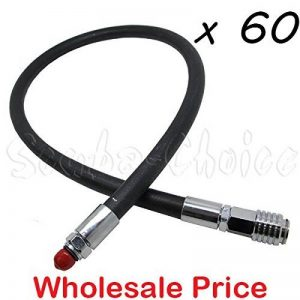 Commerce de gros de Lots 60pc 27 cm 250 psi Alimentation basse pression LP flexible pour Seaquest BCD BC de la marque Scuba-Choice image 0 produit