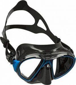Cressi Air - Masque de Plongée Professionnel - Disponible en Premium Silicone Transparent Cristal ou Silicone Noir de la marque Cressi image 0 produit