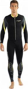 Cressi Combinaison de plongée Homme Noir/Gris/Jaune de la marque Cressi image 0 produit