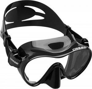 Cressi F1, Premium Masque Plongee Snorkeling Adulte, Technologie Frameless de la marque Cressi image 0 produit