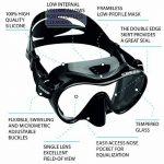 Cressi F1, Premium Masque Plongee Snorkeling Adulte, Technologie Frameless de la marque Cressi image 1 produit