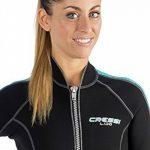 Cressi Lido Combinaison néoprène Femme Noir/Bleu de la marque Cressi image 4 produit
