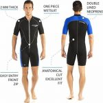 Cressi Lido - Combinaison Neoprene Shorty Homme - Natation Snorkeling et Plongee de la marque Cressi image 2 produit