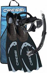Cressi PALAU Bag, Palme + Masque et Tuba de la marque Cressi image 0 produit