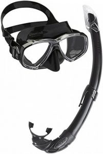 Cressi Perla Mare Noir, PREMIUM Masque et Tuba Adulte Plongée Snorkeling, Kits de Randonnée Aquatique de la marque Cressi image 0 produit