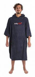 Dryrobe Advance - Poncho pour se changer à l'extérieur - tissu éponge/manches courtes - adulte de la marque Dryrobe image 0 produit
