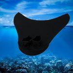 ENFANTS Adulte sirène Palmes, Tails Monopalme de sirène Palmes de natation fin maillots de bain professionnel de natation plongée avec tuba équipement d'entraînement d'eau Jouets pour enfants adolescents adultes par Asdomo de la marque Asdomo image 3 produit