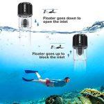 ENKEEO Masque de Plongée, Masque Snorkeling Plein Visage 180° Visible, Antibuée et Anti-fuite Sous-Marine, Snorkel Masque avec la Monture pour Caméra Gopro S/M de la marque ENKEEO image 3 produit
