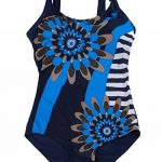 Feoya - Femme Combinaison de Natation Grande Taille 1 Pièce Dos Nu Imprimé de la marque FEOYA image 1 produit