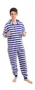 Funzee Grenouillère Adulte Marin Barboteuse Pyjama Combinaison XS-XXL (Taille basée sur hauteur) de la marque funzee image 0 produit