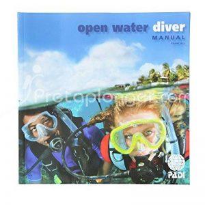 Manuel PADI Open Water Diver avec option ordinateur de plongée intégrée - VF de la marque Padi image 0 produit