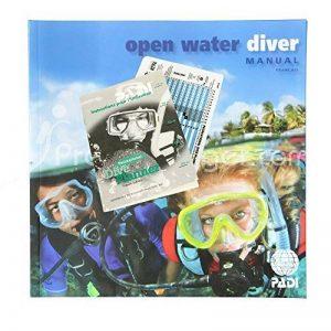 Manuel PADI Open Water Diver avec table de plongée classique RDP - VF de la marque Padi image 0 produit