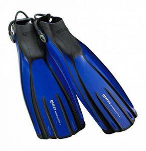 Mares Avanti Quattro + Palmes avec sangle Unisexe, Bleu (RBL) de la marque MARES image 0 produit