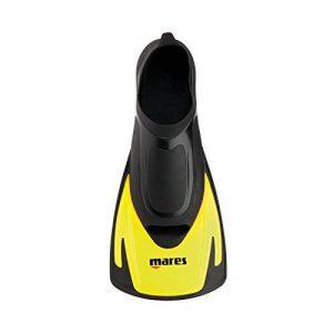 Mares Hermes Swimming Palmes courtes avec sac de rangement Jaune de la marque MARES image 0 produit
