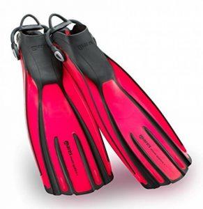 Mares Palmes Avanti Quattro avec sangle mixte adulte S Rojo (FL) de la marque Mares image 0 produit