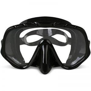 Masque de plongée, Copozz Masque de plongée avec tuba plongée masque de plongée–pas de fuite Easybreath Large par clair pour adultes plongeurs visage de la marque Copozz image 0 produit