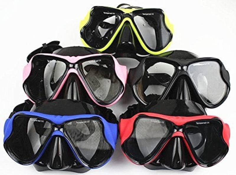 Professionnel Snorkel Mask Lunettes de Natation Myopes Optiques Correctives WOWDECOR Masque de Plong/ée pour Myopie Adulte Enfant Dioptrie Tuba Snorkeling
