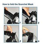 Masque de plongée panoramique intégral, ZMZTec 2018 NOUVEAU pliable Masque de plongée Plein Visage 180° , anti-buée et anti-fuite, Snorkel masque de plongée libre respirant de la marque ZMZTec image 6 produit