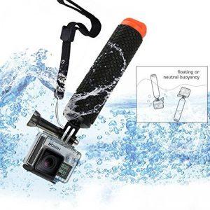 Micros2u POV de plongée Bouée flottante/Perche flottabilité Bobber Poignée réglable à la main Grip pour GoPro Hero 2, 3/3+, 4, SJCAM de la marque micros2u image 0 produit