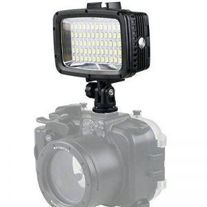 Orsda®Une lampe de photographie de la caméra 1800 Lumières sous-marines de vidéo Lumière de plongée vidéo - 40M Imperméable à l'eau 60 LED Lampe de conduite vidéo lumière pour GoPro Hero6 Sports caméra pour for Canon Nikon Sony Samsung OR005F de la marque image 0 produit