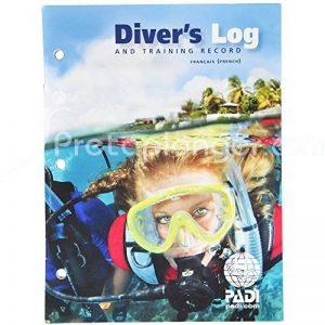 Passeport et carnet de plongée Diver's Log - VF de la marque Padi image 0 produit