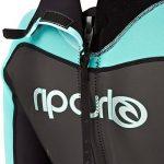 Rip Curl Omega Ladies 2mm Back Zip Spring Shorty BLACK/Turquoise WSP4CW de la marque Rip Curl image 3 produit