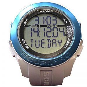 Scubapro Ordinateur de plongée Chromis–Blanc/Bleu–05.061.210 de la marque Scubapro image 0 produit