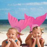 SROVFIDY Réglable Sirène Monopalme Palmes Nageoire Natation pour Enfant Fille de la marque SROVFIDY image 2 produit