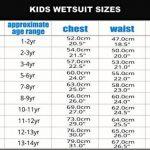 TWF XT3K07Combinaison de plongée pour enfant de la marque TWF image 1 produit