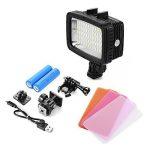 XCSOURCE 60 LED 1800lm Lampe de Plongée Lumière Vidéo Sous-Marine 40M Etanche pour GoPro Hero 3/4 Caméras sports DSLR LED LD846 de la marque XCSOURCE image 1 produit